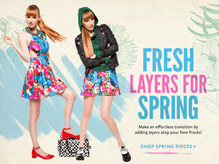 Fresh Layers for Spring at ModCloth