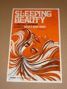 <cite>Sleeping Beauty</cite> program, ABC Peterborough pantomime production
