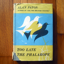 <cite>Too Late the Phalarope</cite>, 1st US edition