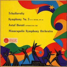 Antal Dorati, Minneapolis Symphony: <cite>Tchaikovsky Symphony No. 5</cite>