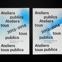 Ateliers tous publics 2013–2014