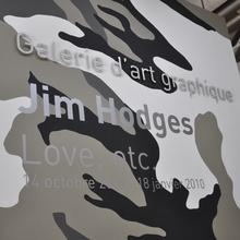 <cite>Jim Hodges: Love, etc.</cite> at Galerie d'art graphique