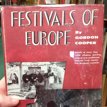 <cite>Festivals of Europe</cite> by Gordon Cooper