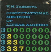<cite>Computational Methods of Linear Algebra</cite>