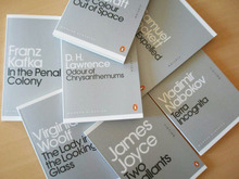 Penguin <cite>Mini Modern Classics</cite> Book Covers