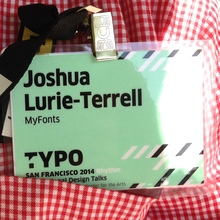 TYPO San Francisco 2014 conference name tag