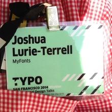 TYPO San Francisco 2014 conference name tag