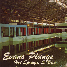 Evans Plunge, Hot Springs, South Dakota postcard