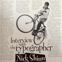 Nick Shinn in the '90s