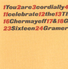 Chermayeff & Geismar 30th Anniversary Party