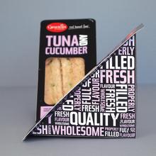 Ginsters food packaging