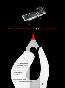 Herman Miller ads for George Nelson Designs, 1948–50