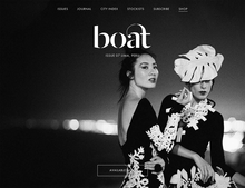 <cite>Boat</cite> Magazine Website
