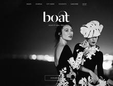 <cite>Boat</cite> Magazine Website