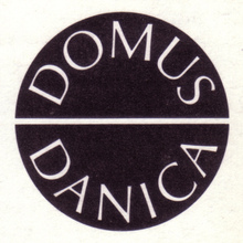 Domus Danica logo and advertising