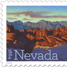Nevada Statehood Stamps