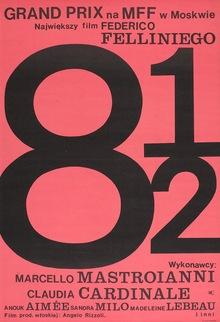 <cite>8½</cite> movie poster