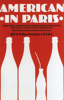 <cite>American in Paris</cite> movie poster
