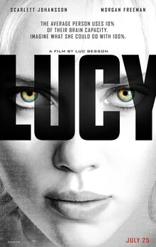 <cite>Lucy</cite> (2014) movie poster