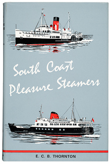 <cite>South Coast Pleasure Steamers</cite> book cover