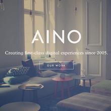 Aino Aktiebolag website