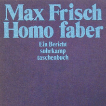 <cite>Homo faber</cite> book cover