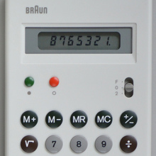 Braun ET 55 pocket calculator