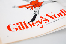 Gilbey's Vodka ad in Playboy magazine