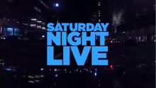 <cite>Saturday Night Live</cite> opening/intro titles (2012–)