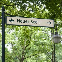 Wayfinding System Großer Tiergarten