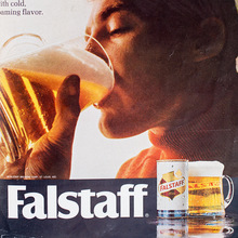 Falstaff beer ad