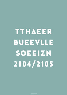 Theater Bellevue Seizoen 2014/2015