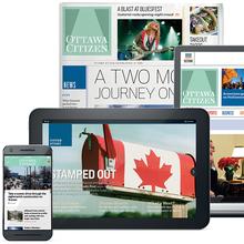 <cite>Ottawa Citizen</cite> newspaper, site and apps