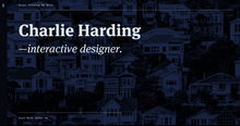 Charlie Harding portfolio