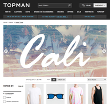 "Topman Trend: ""Cali"""