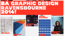 BA Graphic Design Ravensbourne 2014
