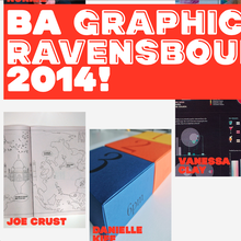 BA Graphic Design Ravensbourne 2014
