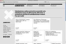 University of the Arts Helsinki website