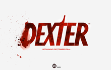 <cite>Dexter</cite> logo and titles