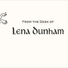 Lena Dunham Letterhead