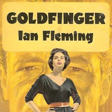 <cite>Goldfinger</cite> book cover, Great Pan edition