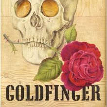 <cite>Goldfinger</cite> book cover, Jonathan Cape first edition
