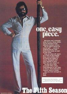 The Fifth Season / Jump Suits, Ltd. ads
