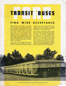 Ford Transit Buses brochure