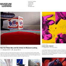 Museum Ludwig website