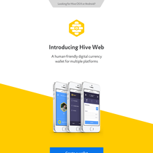 Hive Web and Hive Wallet