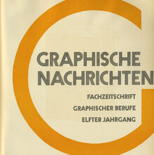 <cite>Graphische Nachricten</cite>, Vol. 11, No. 8, Aug. 1932