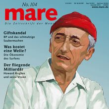 <cite>mare</cite> No. 104, <cite>marereise</cite> Hamburg Issue