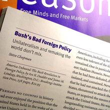 <cite>Reason</cite> Magazine, Dec. 2001 – Aug. 03