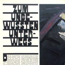 <cite>Frankfurter Allgemeine Magazin</cite> feature spreads, 1980s